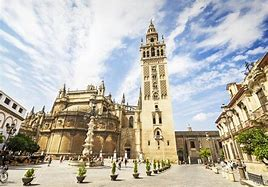 Seville Cathedral an The Giralda Tower